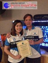 Unilink Group 5 and 10 Years Service Award Night 2018 from Agensi Pekerjaan Unilink Prospects Sdn Bhd at Niwa Japanese Karaoke 11