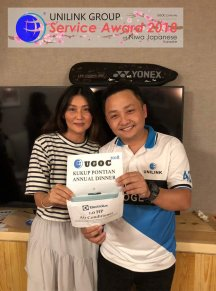 Unilink Group 5 and 10 Years Service Award Night 2018 from Agensi Pekerjaan Unilink Prospects Sdn Bhd at Niwa Japanese Karaoke 20