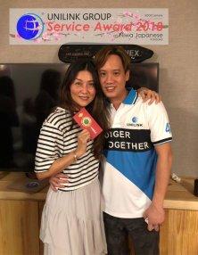 Unilink Group 5 and 10 Years Service Award Night 2018 from Agensi Pekerjaan Unilink Prospects Sdn Bhd at Niwa Japanese Karaoke 23