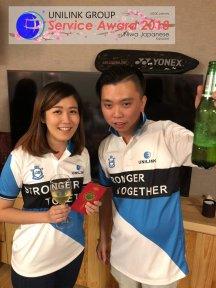 Unilink Group 5 and 10 Years Service Award Night 2018 from Agensi Pekerjaan Unilink Prospects Sdn Bhd at Niwa Japanese Karaoke 25