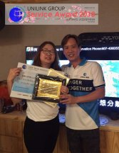 Unilink Group 5 and 10 Years Service Award Night 2018 from Agensi Pekerjaan Unilink Prospects Sdn Bhd at Niwa Japanese Karaoke 26