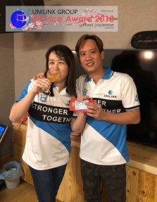 Unilink Group 5 and 10 Years Service Award Night 2018 from Agensi Pekerjaan Unilink Prospects Sdn Bhd at Niwa Japanese Karaoke 29