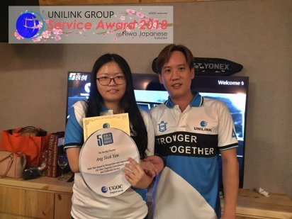 Unilink Group 5 and 10 Years Service Award Night 2018 from Agensi Pekerjaan Unilink Prospects Sdn Bhd at Niwa Japanese Karaoke 31