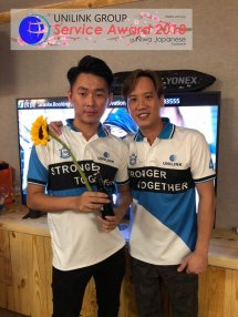 Unilink Group 5 and 10 Years Service Award Night 2018 from Agensi Pekerjaan Unilink Prospects Sdn Bhd at Niwa Japanese Karaoke 32