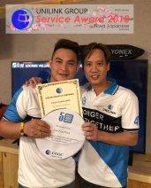Unilink Group 5 and 10 Years Service Award Night 2018 from Agensi Pekerjaan Unilink Prospects Sdn Bhd at Niwa Japanese Karaoke 36