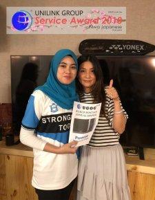 Unilink Group 5 and 10 Years Service Award Night 2018 from Agensi Pekerjaan Unilink Prospects Sdn Bhd at Niwa Japanese Karaoke 37