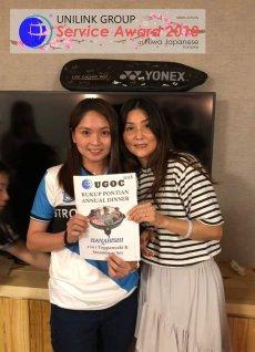 Unilink Group 5 and 10 Years Service Award Night 2018 from Agensi Pekerjaan Unilink Prospects Sdn Bhd at Niwa Japanese Karaoke 38