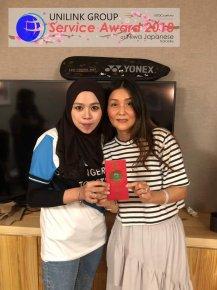 Unilink Group 5 and 10 Years Service Award Night 2018 from Agensi Pekerjaan Unilink Prospects Sdn Bhd at Niwa Japanese Karaoke 42