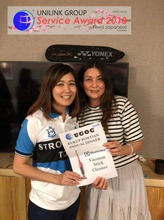 Unilink Group 5 and 10 Years Service Award Night 2018 from Agensi Pekerjaan Unilink Prospects Sdn Bhd at Niwa Japanese Karaoke 48