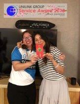 Unilink Group 5 and 10 Years Service Award Night 2018 from Agensi Pekerjaan Unilink Prospects Sdn Bhd at Niwa Japanese Karaoke 50