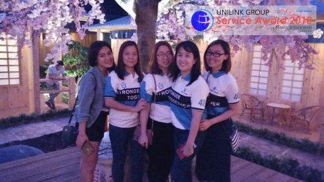 Unilink Group 5 and 10 Years Service Award Night 2018 from Agensi Pekerjaan Unilink Prospects Sdn Bhd at Niwa Japanese Karaoke 51