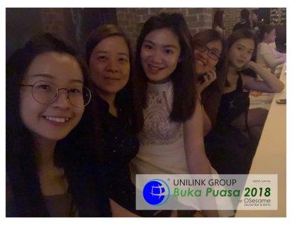 Unilink Group Buka Puasa Dinner 2018 Selamat Hari Raya Aidilfitri from Agensi Pekerjaan Unilink Prospects Sdn Bhd at Osesame Secret Bar and Bistro 03