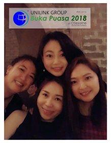 Unilink Group Buka Puasa Dinner 2018 Selamat Hari Raya Aidilfitri from Agensi Pekerjaan Unilink Prospects Sdn Bhd at Osesame Secret Bar and Bistro 11