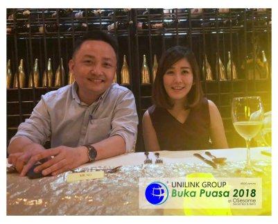 Unilink Group Buka Puasa Dinner 2018 Selamat Hari Raya Aidilfitri from Agensi Pekerjaan Unilink Prospects Sdn Bhd at Osesame Secret Bar and Bistro 13