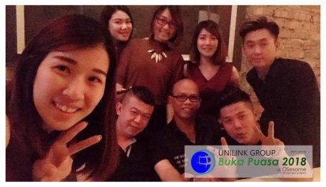 Unilink Group Buka Puasa Dinner 2018 Selamat Hari Raya Aidilfitri from Agensi Pekerjaan Unilink Prospects Sdn Bhd at Osesame Secret Bar and Bistro 17