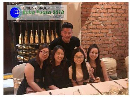 Unilink Group Buka Puasa Dinner 2018 Selamat Hari Raya Aidilfitri from Agensi Pekerjaan Unilink Prospects Sdn Bhd at Osesame Secret Bar and Bistro 31