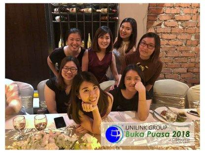Unilink Group Buka Puasa Dinner 2018 Selamat Hari Raya Aidilfitri from Agensi Pekerjaan Unilink Prospects Sdn Bhd at Osesame Secret Bar and Bistro 33