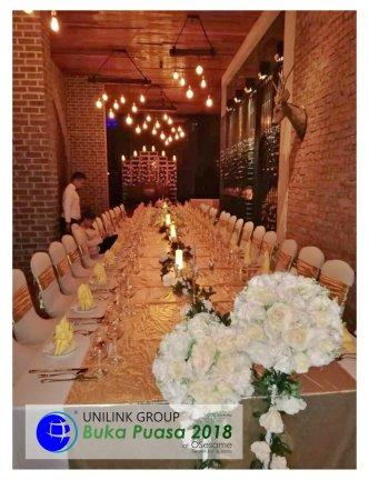 Unilink Group Buka Puasa Dinner 2018 Selamat Hari Raya Aidilfitri from Agensi Pekerjaan Unilink Prospects Sdn Bhd at Osesame Secret Bar and Bistro 47