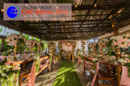 Unilink Group Chinese New Year Dinner 2018 from Agensi Pekerjaan Unilink Prospects Sdn Bhd at Roundabout Bisrto and Cafe 01