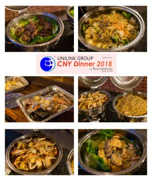 Unilink Group Chinese New Year Dinner 2018 from Agensi Pekerjaan Unilink Prospects Sdn Bhd at Roundabout Bisrto and Cafe 08