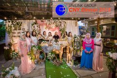 Unilink Group Chinese New Year Dinner 2018 from Agensi Pekerjaan Unilink Prospects Sdn Bhd at Roundabout Bisrto and Cafe 13
