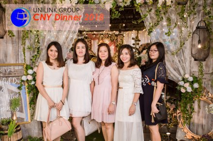 Unilink Group Chinese New Year Dinner 2018 from Agensi Pekerjaan Unilink Prospects Sdn Bhd at Roundabout Bisrto and Cafe 14