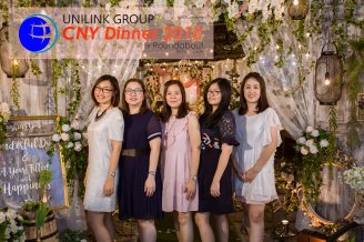 Unilink Group Chinese New Year Dinner 2018 from Agensi Pekerjaan Unilink Prospects Sdn Bhd at Roundabout Bisrto and Cafe 15