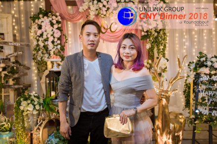 Unilink Group Chinese New Year Dinner 2018 from Agensi Pekerjaan Unilink Prospects Sdn Bhd at Roundabout Bisrto and Cafe 19