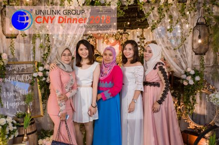 Unilink Group Chinese New Year Dinner 2018 from Agensi Pekerjaan Unilink Prospects Sdn Bhd at Roundabout Bisrto and Cafe 21