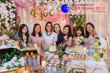 Unilink Group Chinese New Year Dinner 2018 from Agensi Pekerjaan Unilink Prospects Sdn Bhd at Roundabout Bisrto and Cafe 25