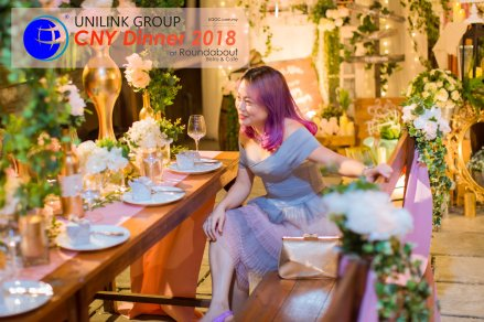 Unilink Group Chinese New Year Dinner 2018 from Agensi Pekerjaan Unilink Prospects Sdn Bhd at Roundabout Bisrto and Cafe 28