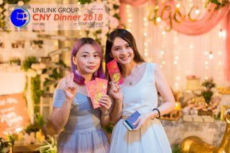 Unilink Group Chinese New Year Dinner 2018 from Agensi Pekerjaan Unilink Prospects Sdn Bhd at Roundabout Bisrto and Cafe 29