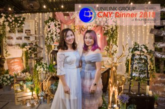 Unilink Group Chinese New Year Dinner 2018 from Agensi Pekerjaan Unilink Prospects Sdn Bhd at Roundabout Bisrto and Cafe 30