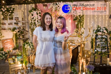 Unilink Group Chinese New Year Dinner 2018 from Agensi Pekerjaan Unilink Prospects Sdn Bhd at Roundabout Bisrto and Cafe 32