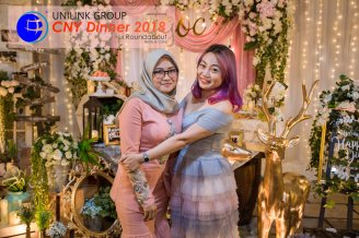 Unilink Group Chinese New Year Dinner 2018 from Agensi Pekerjaan Unilink Prospects Sdn Bhd at Roundabout Bisrto and Cafe 33
