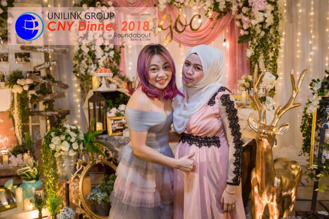 Unilink Group Chinese New Year Dinner 2018 from Agensi Pekerjaan Unilink Prospects Sdn Bhd at Roundabout Bisrto and Cafe 35