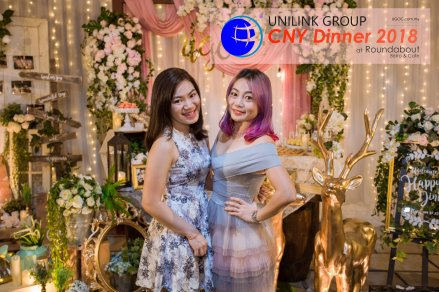 Unilink Group Chinese New Year Dinner 2018 from Agensi Pekerjaan Unilink Prospects Sdn Bhd at Roundabout Bisrto and Cafe 37