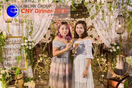 Unilink Group Chinese New Year Dinner 2018 from Agensi Pekerjaan Unilink Prospects Sdn Bhd at Roundabout Bisrto and Cafe 42