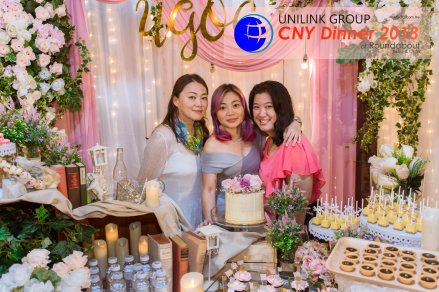 Unilink Group Chinese New Year Dinner 2018 from Agensi Pekerjaan Unilink Prospects Sdn Bhd at Roundabout Bisrto and Cafe 43