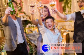 Unilink Group Chinese New Year Dinner 2018 from Agensi Pekerjaan Unilink Prospects Sdn Bhd at Roundabout Bisrto and Cafe 49
