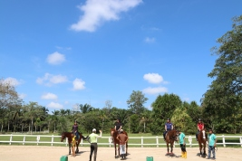Unilink Group Company Trip 2018 April from Agensi Pekerjaan Unilink Prospects Sdn Bhd Horse Riding at Johor Bahru 45