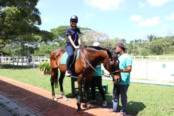 Unilink Group Company Trip 2018 April from Agensi Pekerjaan Unilink Prospects Sdn Bhd Horse Riding at Johor Bahru 55