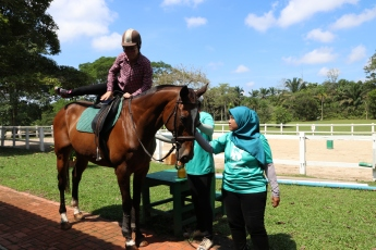 Unilink Group Company Trip 2018 April from Agensi Pekerjaan Unilink Prospects Sdn Bhd Horse Riding at Johor Bahru 59