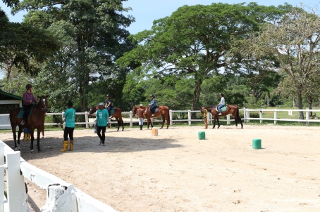 Unilink Group Company Trip 2018 April from Agensi Pekerjaan Unilink Prospects Sdn Bhd Horse Riding at Johor Bahru 67