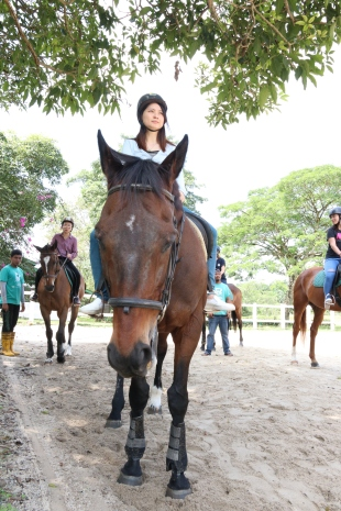 Unilink Group Company Trip 2018 April from Agensi Pekerjaan Unilink Prospects Sdn Bhd Horse Riding at Johor Bahru 85
