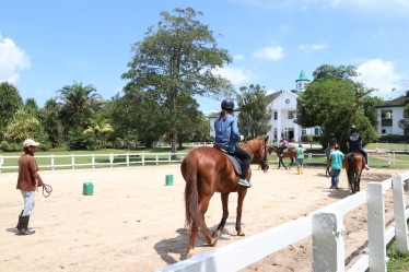 Unilink Group Company Trip 2018 April from Agensi Pekerjaan Unilink Prospects Sdn Bhd Horse Riding at Johor Bahru 87
