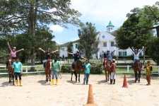 Unilink Group Company Trip 2018 April from Agensi Pekerjaan Unilink Prospects Sdn Bhd Horse Riding at Johor Bahru 96