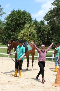 Unilink Group Company Trip 2018 April from Agensi Pekerjaan Unilink Prospects Sdn Bhd Horse Riding at Johor Bahru 97