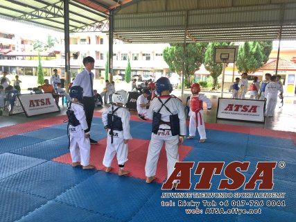 Advance Taekwondo Sport Academy ATSA Education Martial Art Self Defence Fitness Poomdae Sparring Kyorugi Batu Pahat Johor Malaysia A02-01