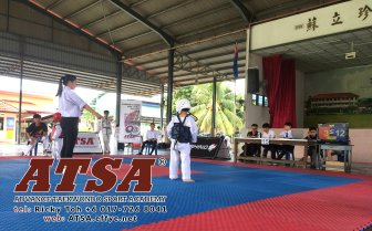 Batu Pahat Sports Ricky Toh Advance Taekwondo Sport Academy ATSA Education Martial Art Self Defence Fitness Poomdae Sparring Kyorugi Batu Pahat Johor Malaysia A02-03